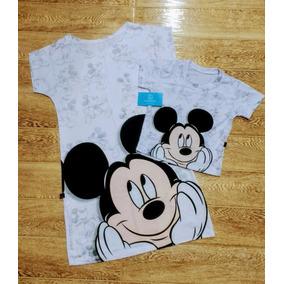 Kit Mãe E Filho Mickey