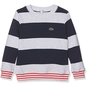 Sweater Hilo Lacoste, Niño, Mangalarga, Cuelloredondo,aj2603