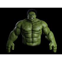 Hulk 100% Real! Disfraz Escultura.