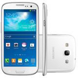Samsung Galaxy S3 Branco 3g Ram 1gb 16gb 4.8 8mp Desbloquea