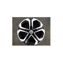 Roda Honda Hrv Aro 17 Preta/diamantada 12x S/juros