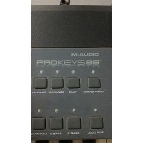 Piano Eletrico M Audio Prokeys 88