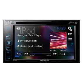 Stereo Dvd Pioneer Avh 195 Pantalla 6.2 Doble 2 Din