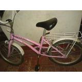 Bicicleta Rosa Para Nena De 9 A 5 Años