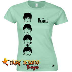 Playera Bandas The Beatles Mod. 07 By Tigre Texano Designs
