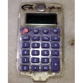 Calculadora De Bolso Digital Transparente
