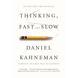 Libro Thinking, Fast And Slow, Daniel Kahneman, Dhl