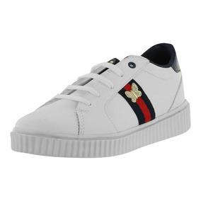 Tenis Casual Infantil Blanco Calzado Niña Dorothy Gaynor