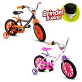 Bicicleta Infantil Nathor Aro 14 Firstpro Menino Ou Menina