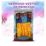 Vestido Disfraz Princesa Para Niña Pop&shop