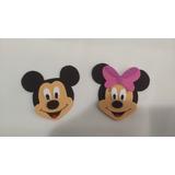 Minnie E Mickey Rosto De Eva 5 Unid.