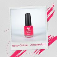 Rosa Chicle - Ámsterdam | Esmalte De Larga Duración De 15ml