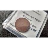 Moneda Canada 1 Cents 1967 -conmemorativa (462z