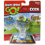 Angry Birds Go! Cápsulas Kart Verde Cerdo Con Gorra De Avia