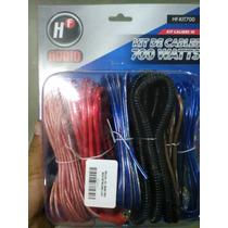 Kit De Instalacion Car Audio Calibre 10 Hf 700w