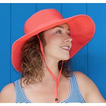 Sombrero Beach De Protección Solar Upf 50+ Playa Moda Sol