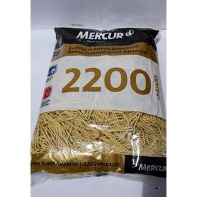 Elástico Super Amarelo N.18 C/2200un. Mercur