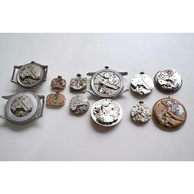 Maquinas De Relojes Coleccionables P/reparar E035