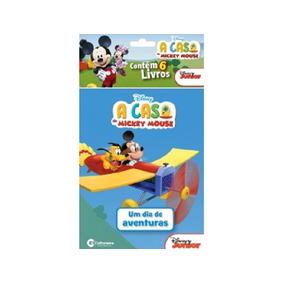Mini Livros A Casa Do Mickey Mouse Com 6 - Culturama