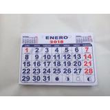Taco Calendario 2018 1/8 Mensual - 200 Un.