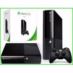 Xbox 360 Super Slim Desbloqueado 4gb Novo + 10 Brindes