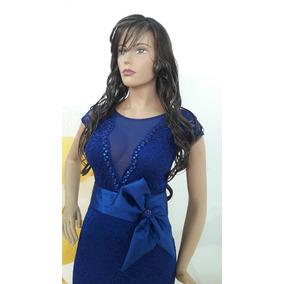 Hermoso Vestido Azul Rey
