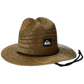 Sombrero De Paja Delgado Pierside Quiksilver Para Hombre 05aba2d9505
