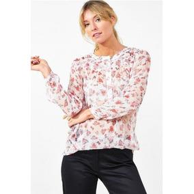 Camisola Camisa Blusa Estampada Manga Larga Valdivia