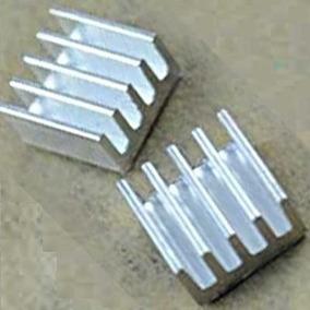 Dissipador Calor Chipset A4988 Em Alumínio 8mm X 8mmx 5mm