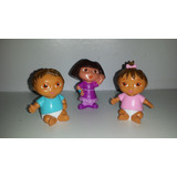 Mini Muñecos Dora La Exploradora Original Disney Store X 3