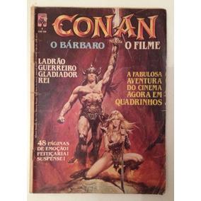 Almanaque Conan O Bárbaro Ed Abril 1982 Quadrinização Filme