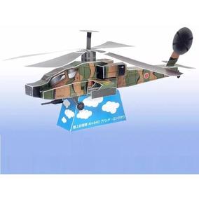 Planos Helicoptero Para Armar Papercratf Modelismo Militar