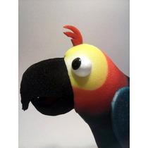 Titeres En Goma Espuma: Papagayo Tipo Manopla