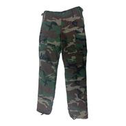 Pantalon Con Abrigo Cargo Interior Corderito Liso/camuflado