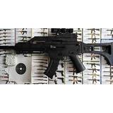 Metralleta A Balines Tipo Airsoft De 6mm. Plastico Juguete