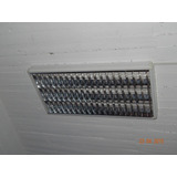 Plafon Lumenac Comfort 3x36w - Completo Con Tubos Instalados