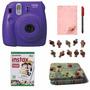 Instax Mini 8 Violeta 10 Fotos Portafoto Broche Tarjeta Marc