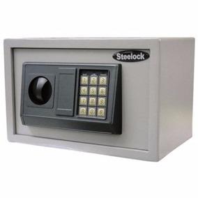 Caja Fuerte Steelock Fixser 20x20x30 Cm - Excelente Estado