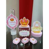 Kit Personalzado Infantil Realeza Menina