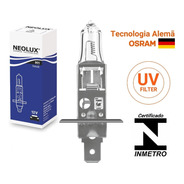 Lâmpada H1 Farol Alto Baixo Neblina Neolux 12v 55w Standard