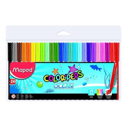 Marcadores Maped Colorpeps Ocean X24