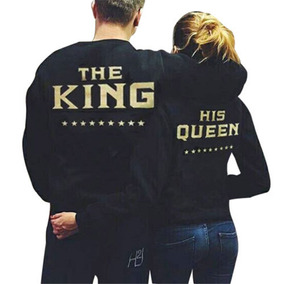 2 Sudaderas King And Queen San Valentin Parejas