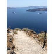 Rustic-stairs-skaros-rock-santorini-greece Fotografia