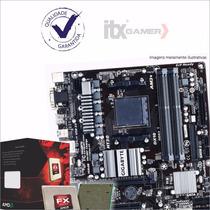 Kit Amd Fx-8300 + Gigabyte Ga-78lmt-usb3 + 2 Jogos Grátis