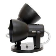 Lustre De Teto Spot Luz Para Duas Lampada Bulbo A60 Bocão