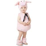 Disfraz Para Niña Piglet Cerdito Rosado - Halloween