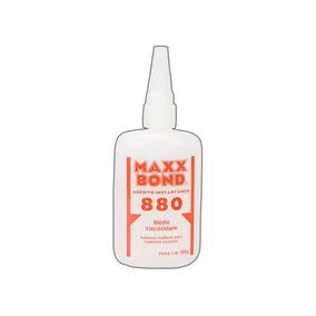 Cola Instantânea Max Bond 880 100g Artesato,mad, Couro 01und