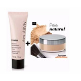 Kit Base Em Pó Mineral + Base Liquida Matte Mary Kay