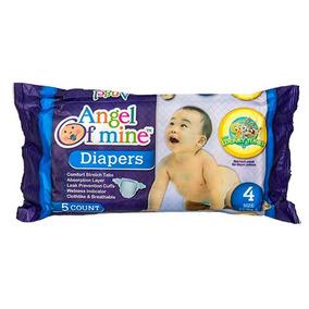 Diapers Pañal Desechable Importado Talla De 10 A 14 Kg