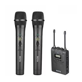 Kit Microfono Inalambrico 2 Tx Mic Mano / Corbatero Boya Wm8